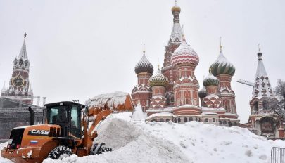 140 éves havazási rekord dőlt meg Moszkvában