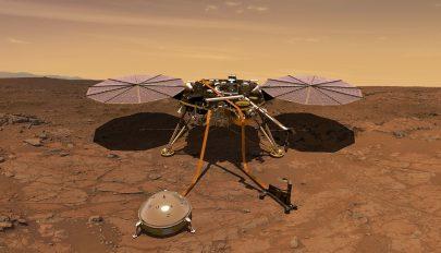 A Mars talajába szorult a NASA robotja