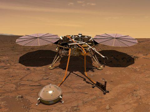 Rendszeres időjárás-jelentést küld a Marsről az Insight űrszonda