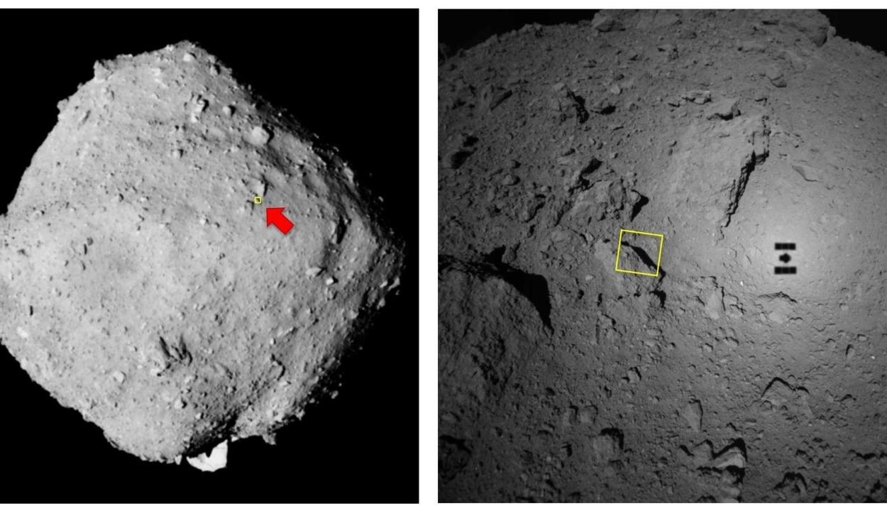 Japán űrszonda szállt le egy aszteroidán