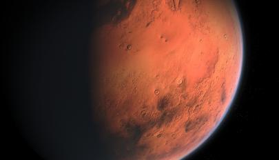 Felszín alatti tórendszer lehetett a Marson