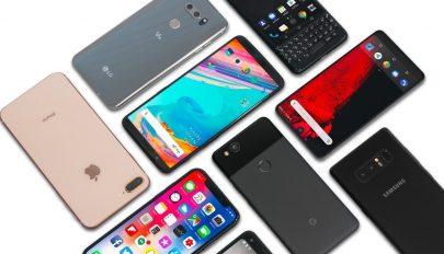 Megtorpant az okostelefonok világpiaci értékesítése a tavalyi negyedik negyedévben