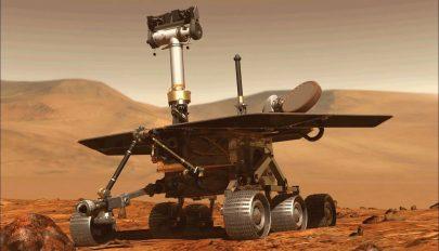 Ezzel a képpel búcsúzott az Opportunity marsjáró
