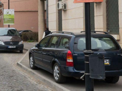 Közel 2000 parkolási bírságot szabtak ki tavaly Sepsiszentgyörgyön
