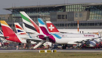 7,9 százalékkal nőtt tavaly a légiutasforgalom