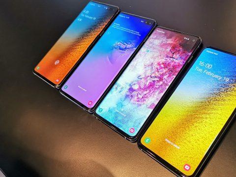 Bemutatta a Galaxy S10-et és első összehajtható telefonját a Samsung