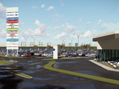 Új bevásárlóközpont épül Sepsiszentgyörgyön