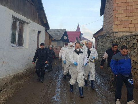 Több mint 140 sertést pusztítottak el Kovászna megyében a sertéspestis miatt