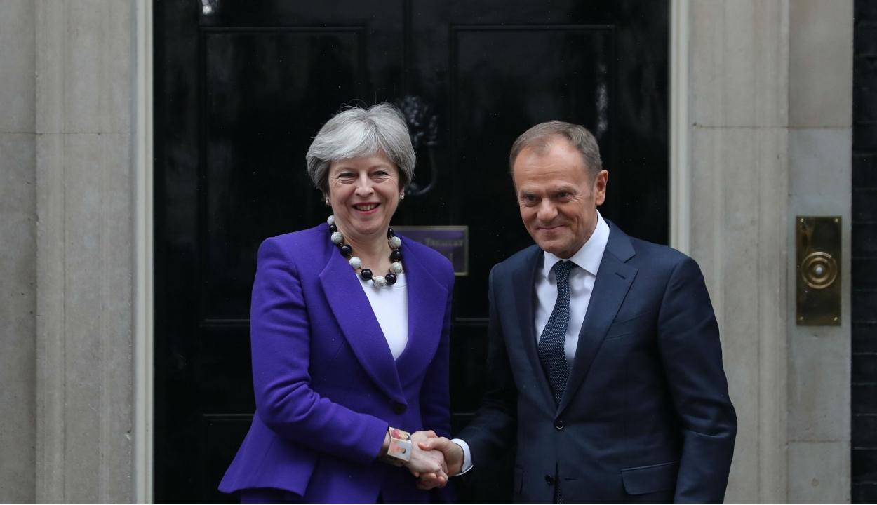 Theresa May a Brexit június 30-ig terjedő halasztását kérte