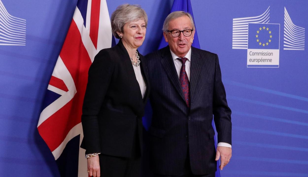 Brexit: Nem történt áttörés Jean-Claude Juncker és Theresa May brüsszeli tárgyalásán