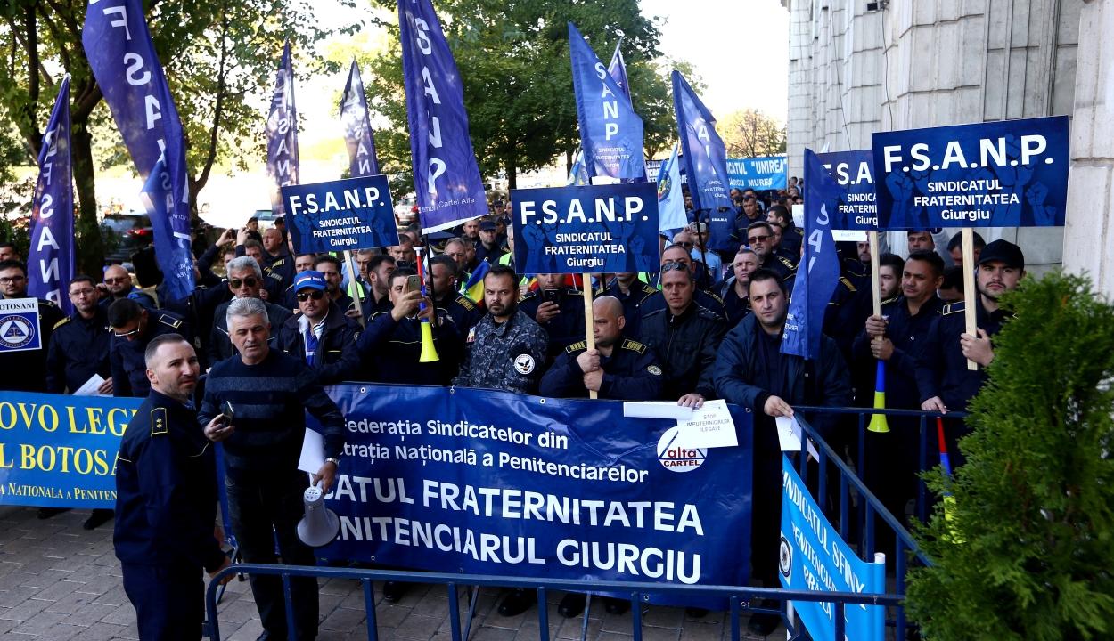 Tüntetni készülnek a rendőrök, börtönőrök és tartalékos katonák