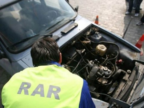 A RAR által tavaly ellenőrzött gépjárművek csaknem fele műszaki hibásnak bizonyult