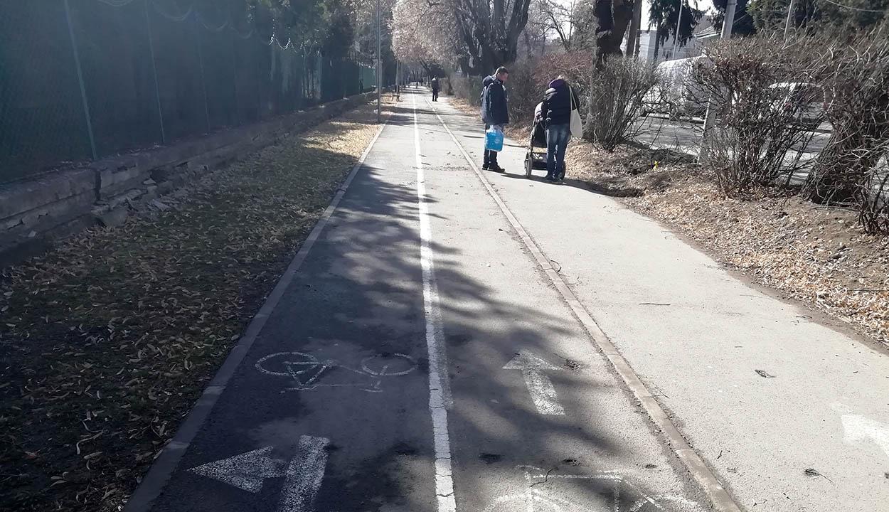 A tömegközlekedést és bicikliseket támogatnák
