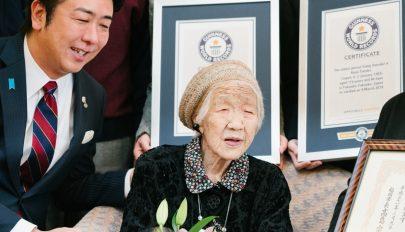 116 évesen aktív életet él a világ legidősebb embere