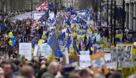 Brexit: több százezren tüntettek Londonban az újabb népszavazásért