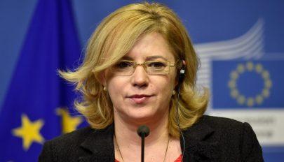 Corina Creţu: az euróra való áttérés óriási előrelépés lesz, ha Románia kellőképpen felkészül rá