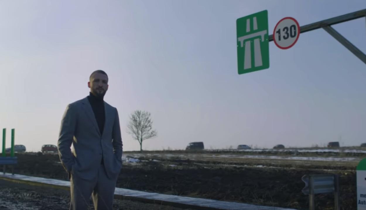 Saját költségén építtette meg az első méter moldvai autópályát egy vállalkozó