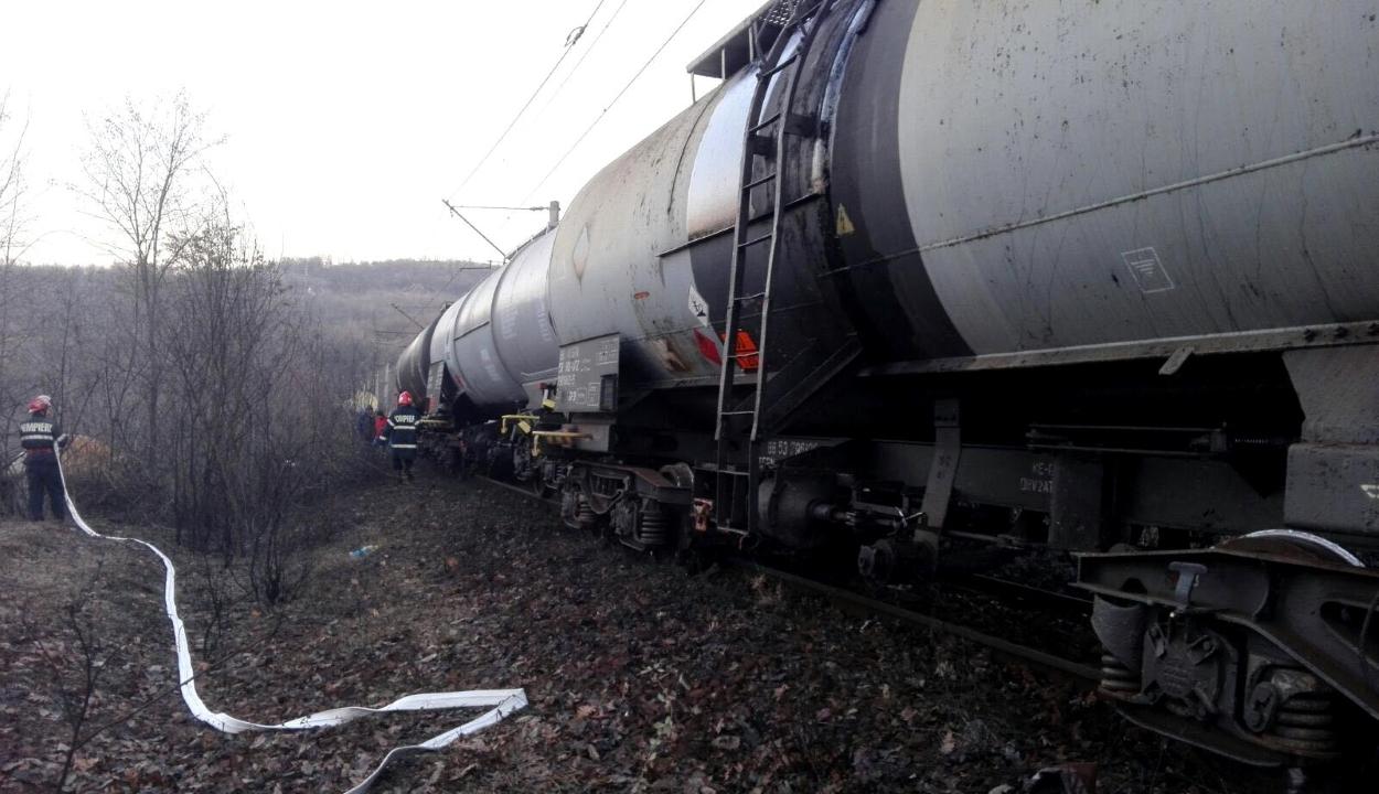 Kisiklott egy vonat Hunyad megyében – ez már a negyedik baleset az utóbbi két hétben