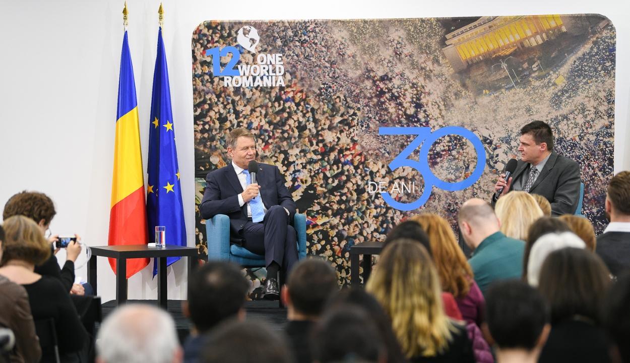 Johannis: a PSD a demokrácia balesete