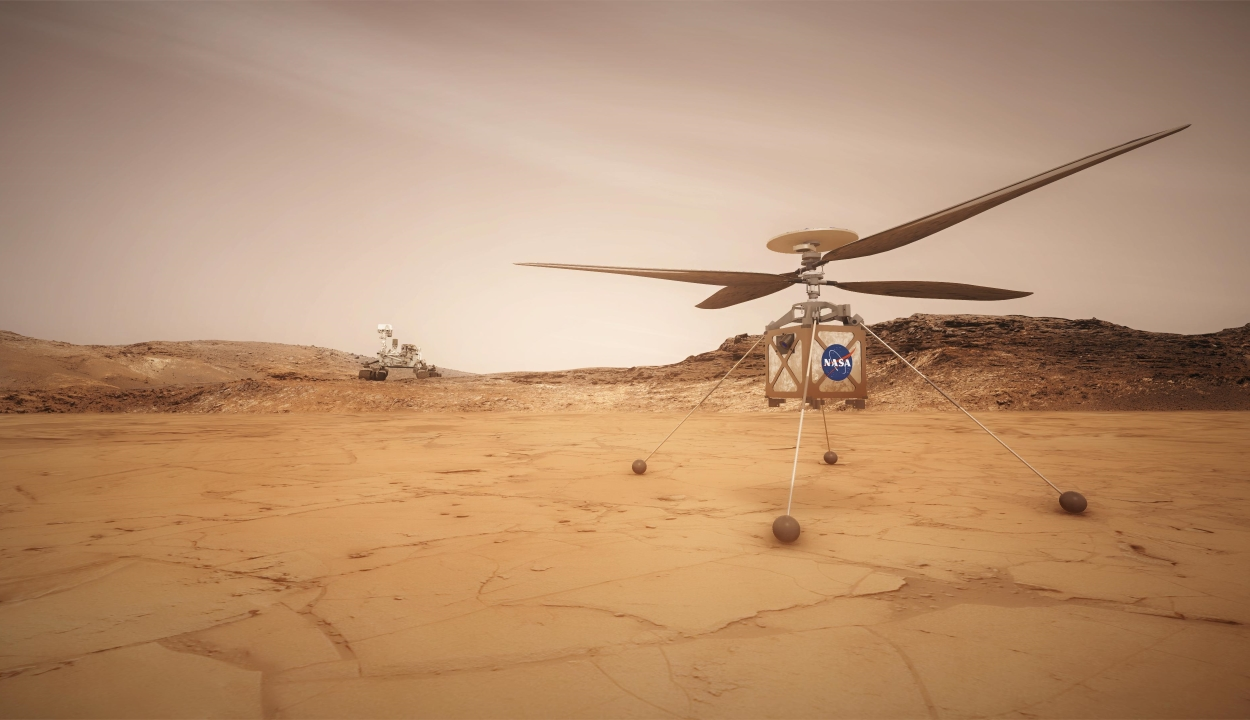 A földi légkör után a marsit is meghódíthatja a NASA