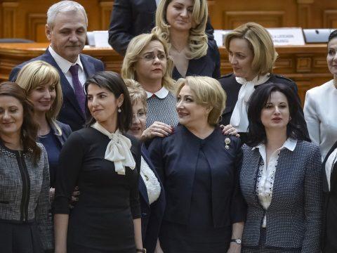 A parlamentben az EU-s átlag alatti, a kormányban az átlag fölötti a nők aránya