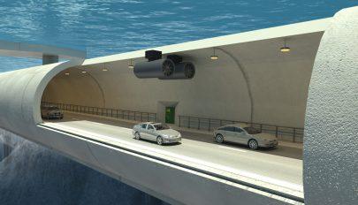 Víz alatt lebegő alagutat építene Norvégia