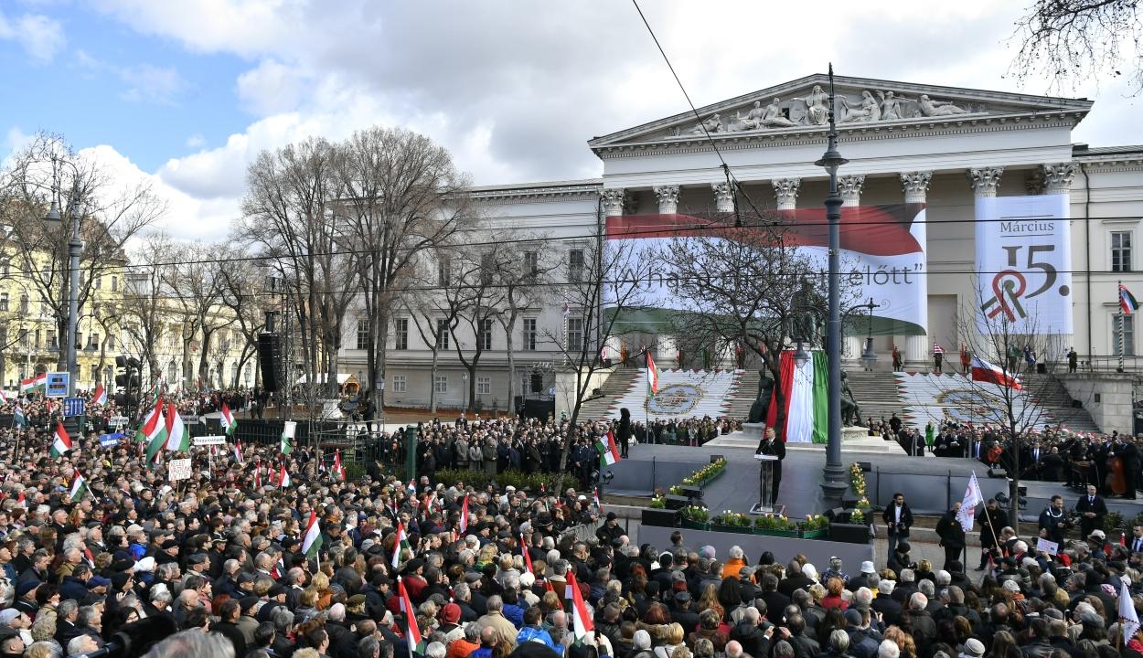 Elmarad a március 15-re tervezett ünnepség Budapesten
