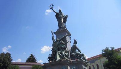 Az aradi Szabadság-szobor megsemmisítését követeli a Noua Dreptă
