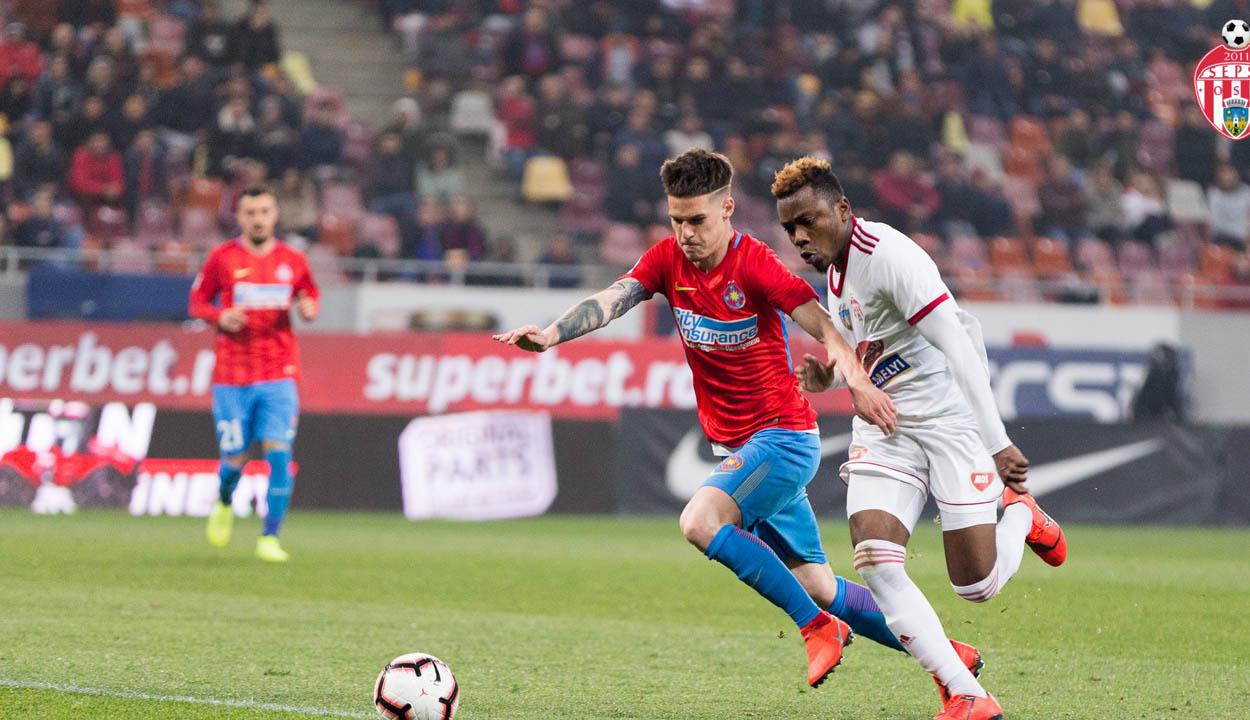 A FCSB két góllal verte a Sepsi OSK-t