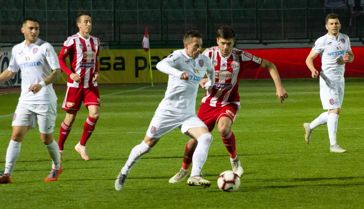 A Kolozsvári CFR növelte előnyét a tabellán