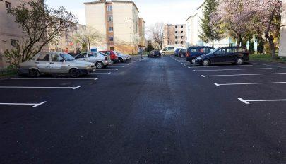 Új parkírozót létesítettek