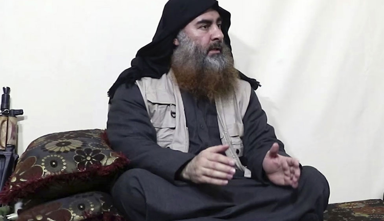 Nyilvánosságra hozták az al-Bagdadi likvidálásakor készült videók egy részét