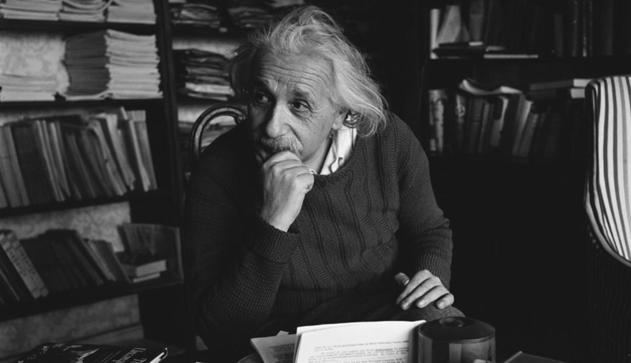 135 ezer dollárért kelt el Einstein egy levele