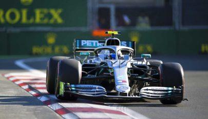 Forma-1: Bottas nyert Azerbajdzsánban, a Mercedes ismét kettős sikert ért el