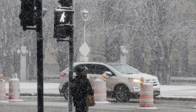 Hóviharok, tornádók tomboltak az Egyesült Államokban