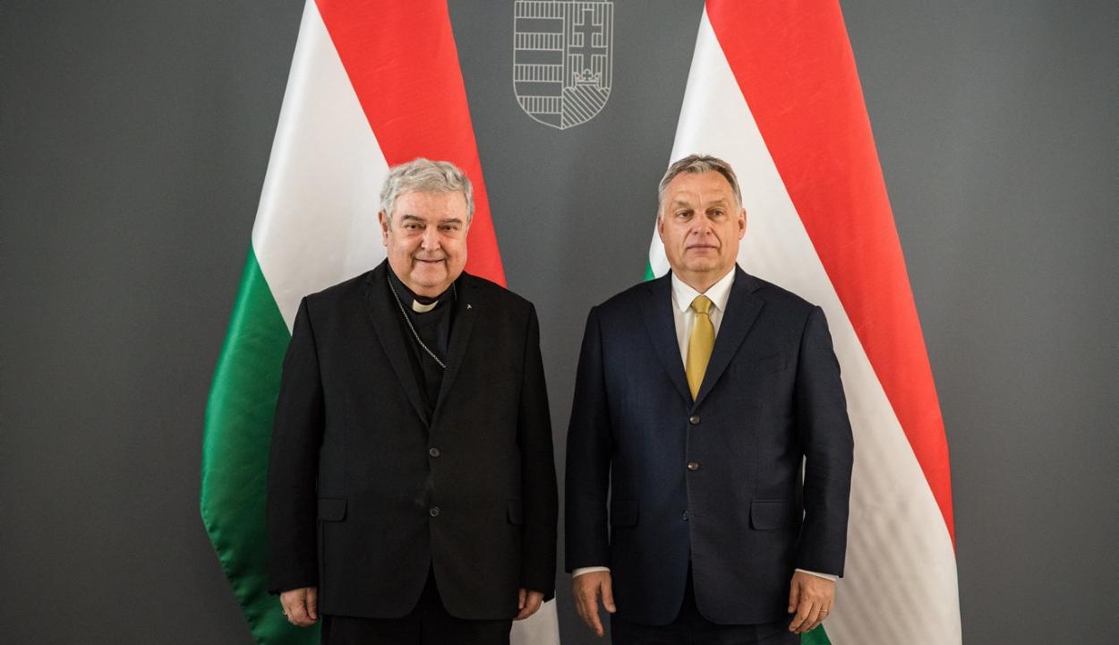 A pápa csíksomlyói látogatásáról is tárgyalt Orbán Viktor és Jakubinyi György