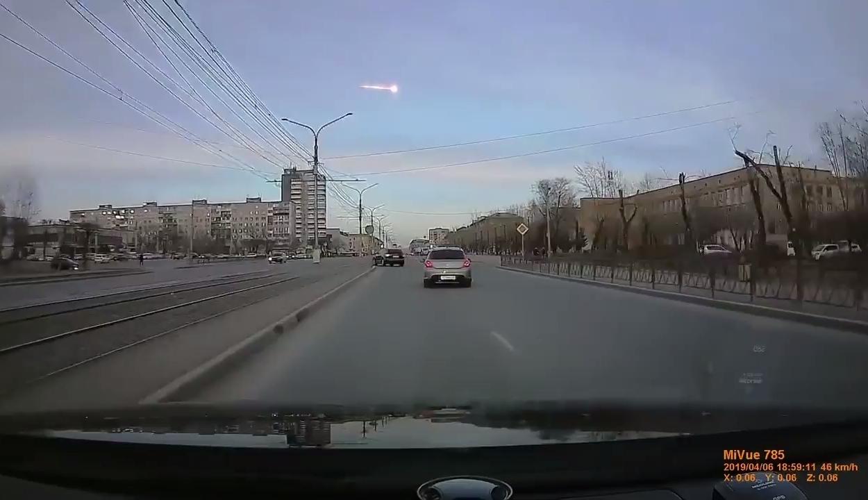 Nagyobb méretű meteor robbant fel Oroszország felett