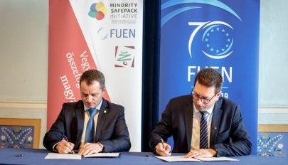 EP-választás: Az MPP elnöke megegyezést írt alá Vincze Loránt RMDSZ-es képviselőjelölttel