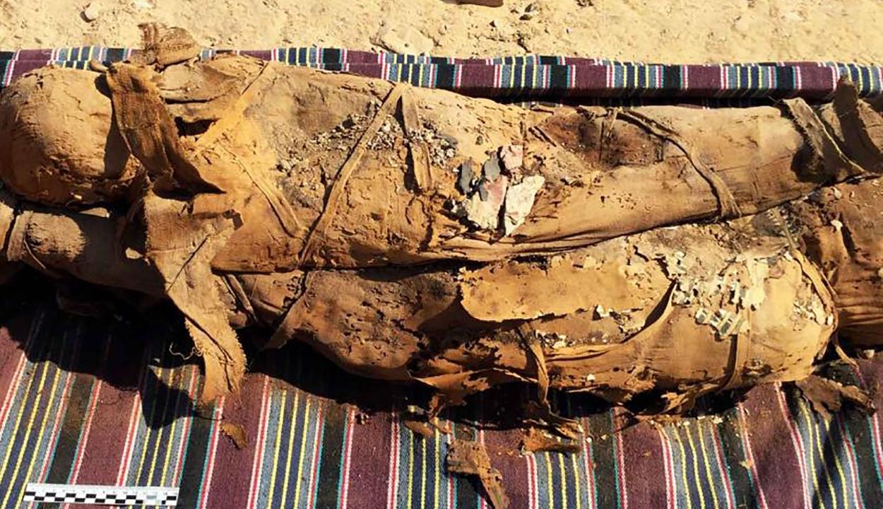 Több tucat múmiára bukkantak Egyiptomban