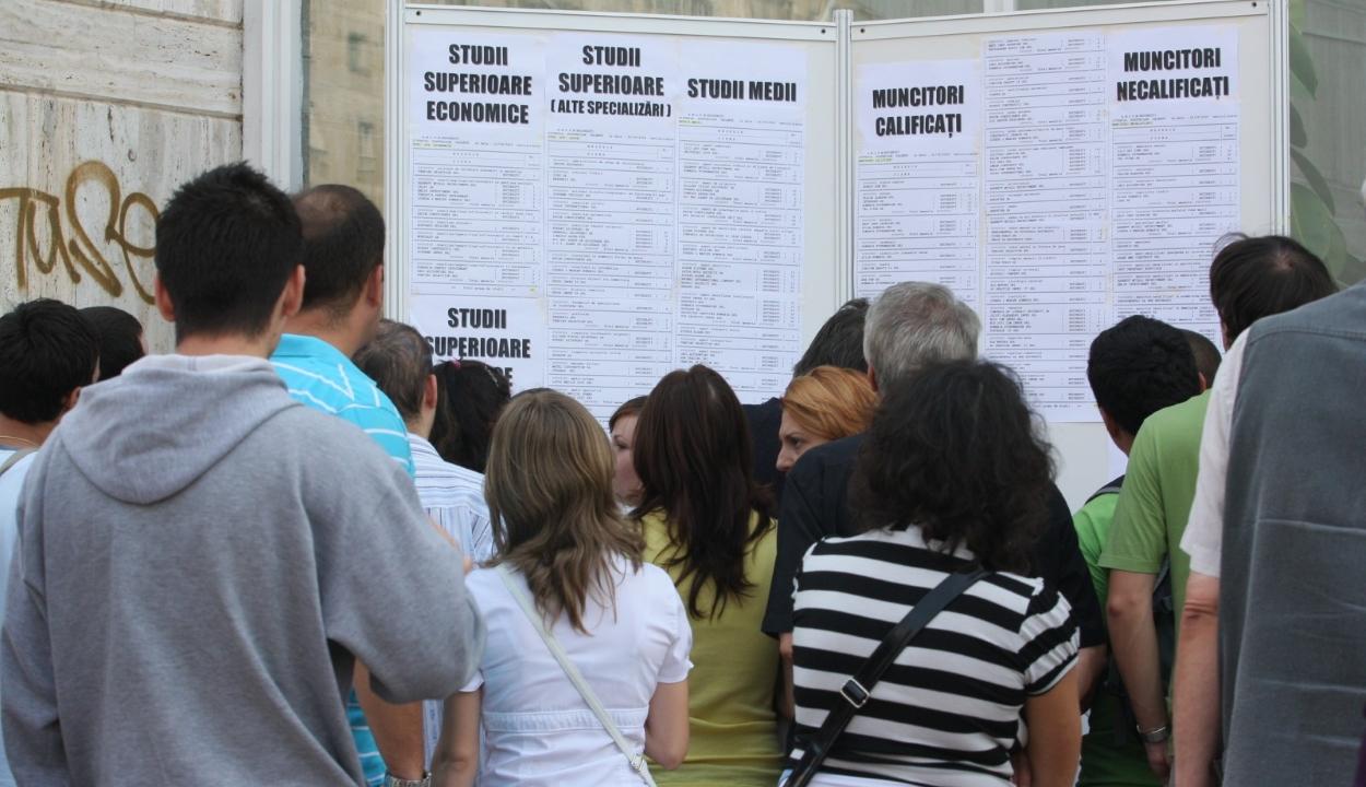 2,9%-os volt júniusban a munkanélküliségi arány