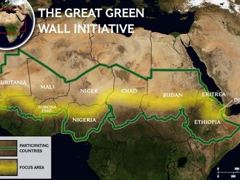 20 ország 7700 kilométeren építi a Nagy Zöld Falat