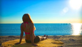 Nyugágy nélkül is lehet napozni a tengerparton