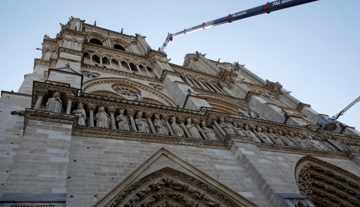 Stabilizálták a Notre-Dame struktúráját