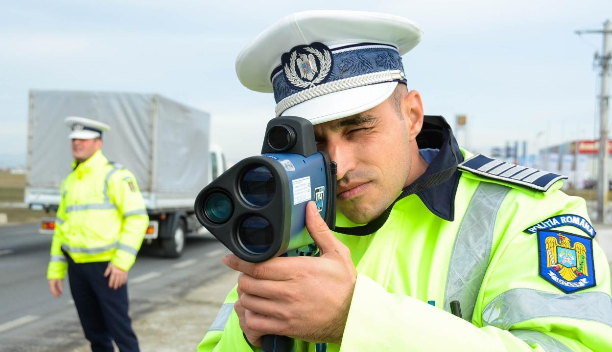 Több mint 2200 sofőr maradt jogosítvány nélkül gyorshajtás miatt az elmúlt héten