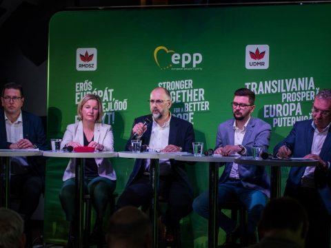 Erős Európát, fejlődő Erdélyt! – bemutatta választási programját az RMDSZ