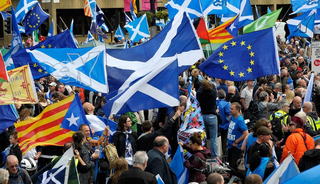 Újabb függetlenségi népszavazásról szóló tervezetet terjesztett elő a Skót Nemzeti Párt