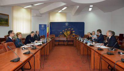 Az igazságügyi törvényekről tárgyalt Tudorel Toader a Velencei Bizottság képviselőivel