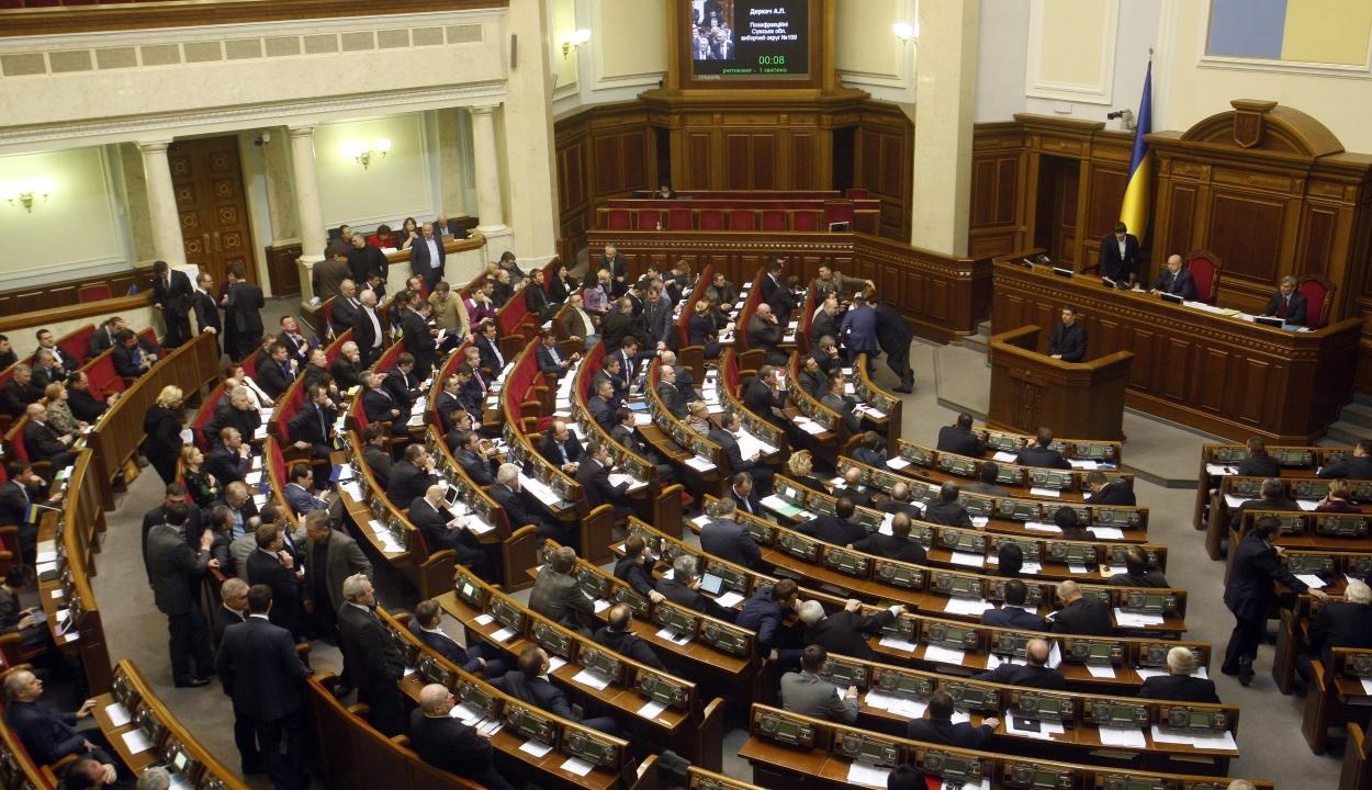 Az ukrán parlament elfogadta a sokat vitatott nyelvtörvényt