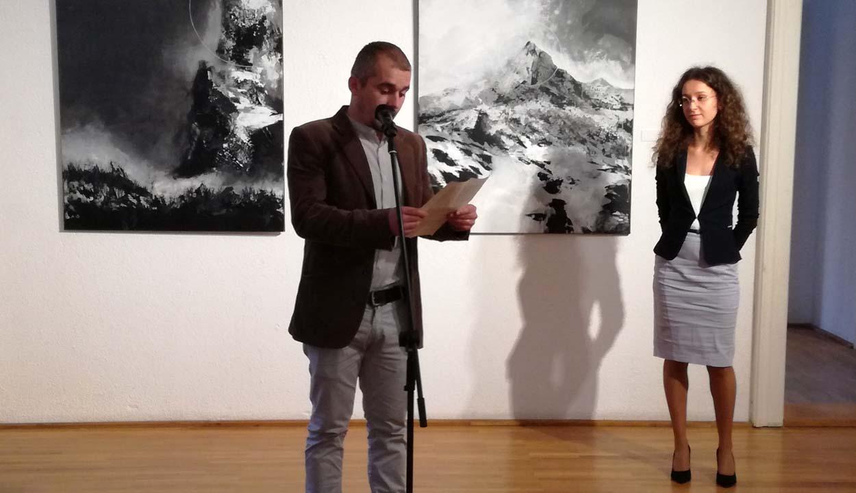 Căbuz Andrea kiállítása a Lábas Házban