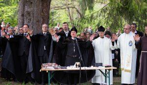 Biró Erika szörcsei református lelkész, igazságért fohászkodott a Jóistenhez Fotó: Kocsis B. János